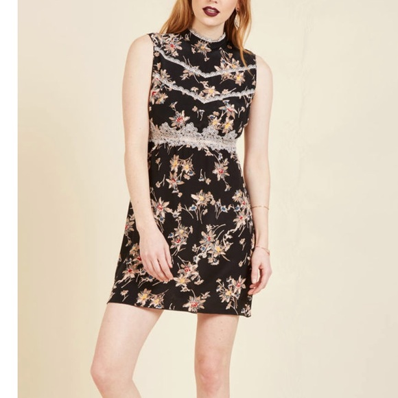 Anna Sui Indie Elegance Mini Dress